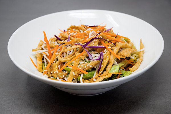 Chinese Crispy Chicken Salad