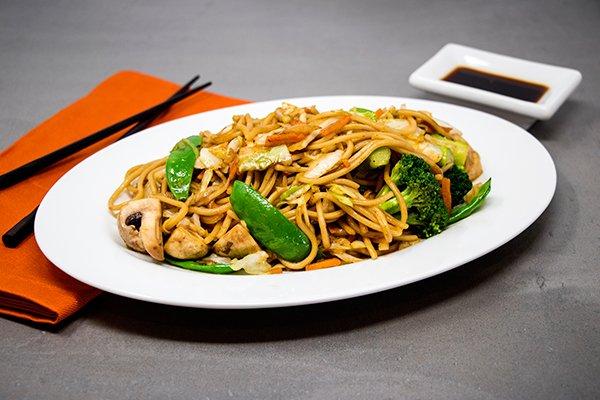 Vegetable Low Mein Noodles