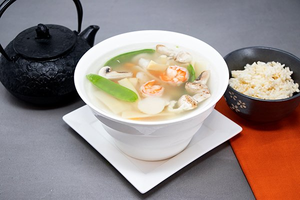 Sizzling Rice Soup Large