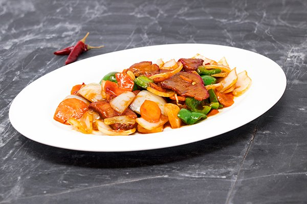 Hunan Spicy Barbecue Pork
