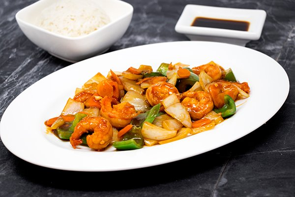 Hunan Spicy Shrimp