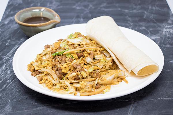Lunch Mu Shu Pork