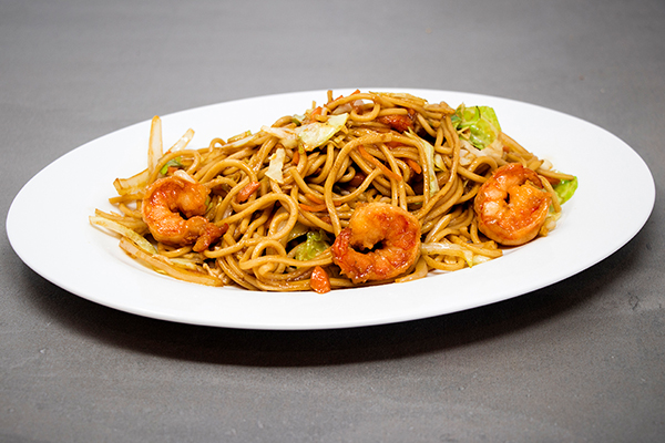 Shrimp Low Mein Noodles