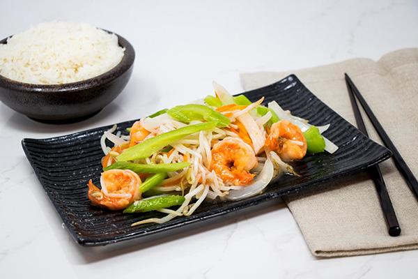 Shrimp & Sprouts