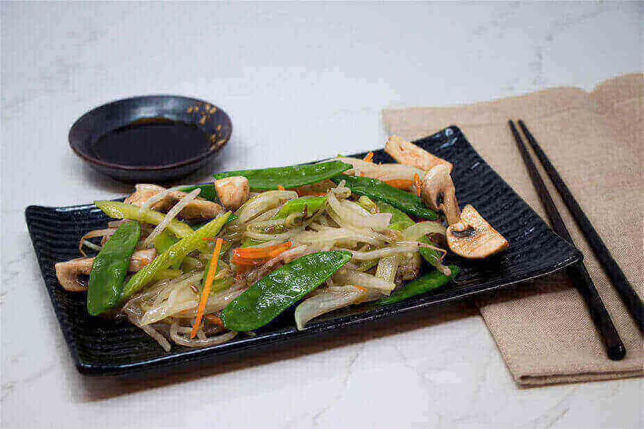 Wok Tossed Sprouts